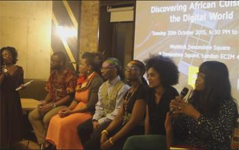 Discovering African Cuisine Panel