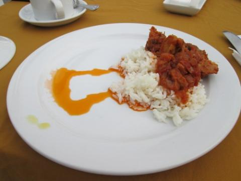 Breakfast Stew and Rice