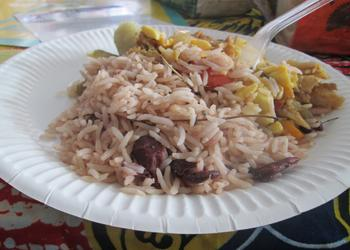 Saltfish Rice and Peas