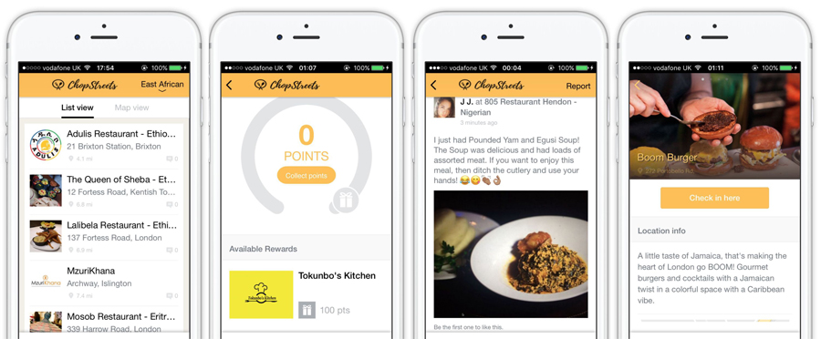 Foodtech launches an app for african and caribbean food west app for african and caribbean food recipes forumfinder Image collections