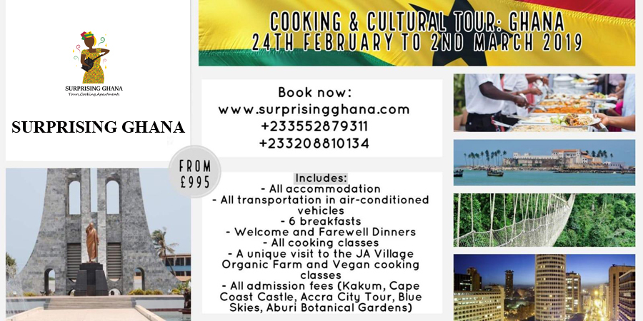 Cooking Tour Ghana 2019