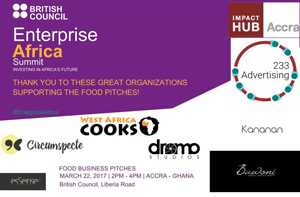 Enterprise Africa Food Pitch