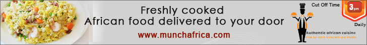 Munch Africa Cooked Ordered Food