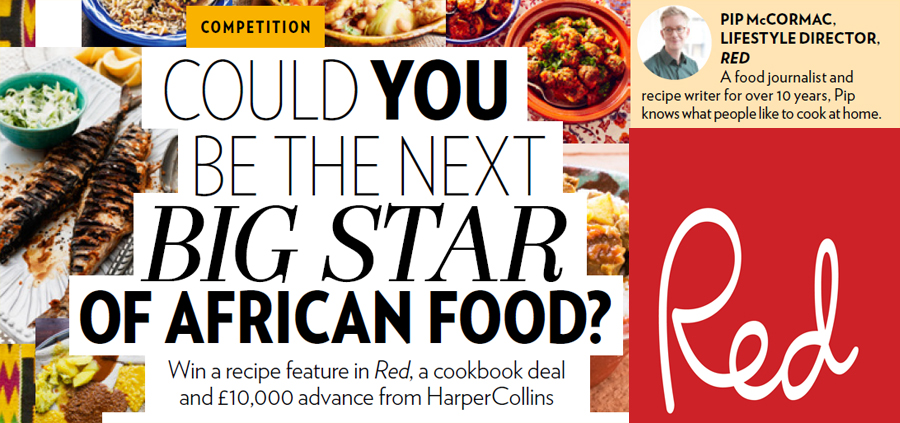 Win A Cookbook Deal And Recipe Feature In Red