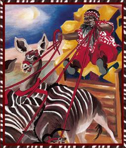 The Night Before Christmas in Africa by Jesse Hanna and Carroll Foster