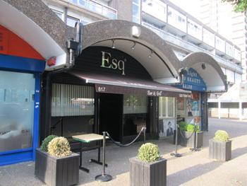 Esquire Lounge South London Restaurant And Bar