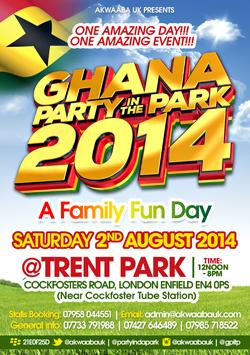 Ghana Party in the Park London