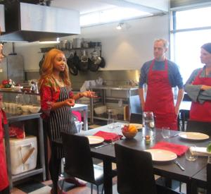 Lerato Umah-Shaylor Cooking Classes