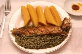 Eat Ndole while watching Cameroon play in the World Cup
