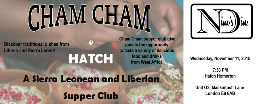 African Food at Cham Cham